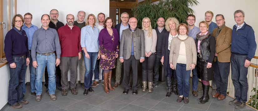 Gruppenfoto aller Berater und Mitarbeiter der BBA Baubetreuung GmbH