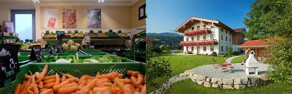 Beispiel für Hofladen und Hof Café aus dem Diversifizierungsprogramm 2020 - DIV
